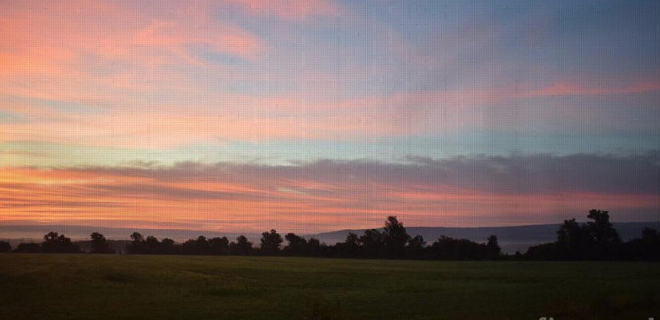 Pink and White Sunset - Moeller - Gloria Moeller