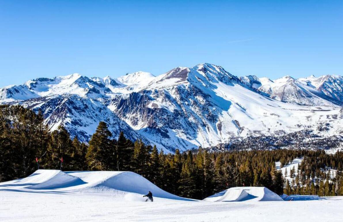Snowy Sierras on a Sunny Day