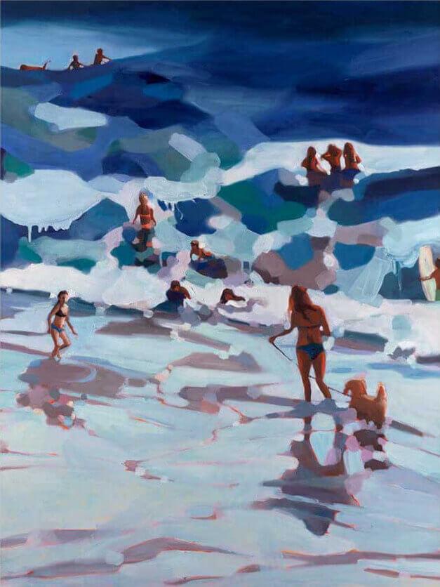shapes of summer art - Kelly Villasenor