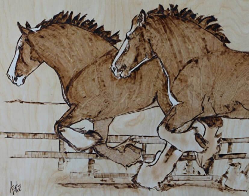 wildhorses - Darlene Katz